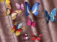Wholesale simulation butterfly decoration mall beauty Chen window design wedding refrigerator