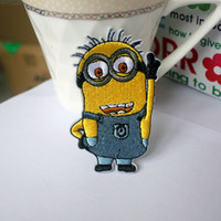 Wholesale Despicable Me minion Beedo Embroidered Patch Set Embroidered Appliques Kids DIY Toy