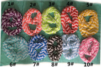 Wholesale 2014 Size X50CM wide two colours stripe lady scarf shawls sunproof women scarf shawl Chevron Wave silk Scarf Circle Loop Infinity Scarves