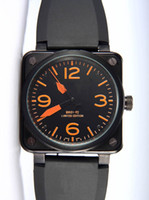 best cheap mens watches - Best Brands Luxury Designer Men Automatic Mechanical Black Rubber Watch Straps Swiss Black PVD Stainless Fashion Cheap Mens Sports Watches