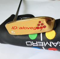 Wholesale new golf putter gold colors with putter headcover Limited release golf clubs