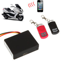 RF-V10 rf system - RF V10 gsm sms Car GPS Tracker vehicle and home alarm security system two way with remote start engine CAL_113