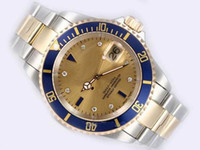 Wholesale Luxury Swiss Brands Male Silver Watch Stainless Steel Gold K Date Casual Mens Automatic Mechanical Watches Fashion Men Sport Wristwatches