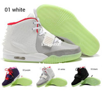 Wholesale New Arrival Men Basketball shoes Air Yezzy Mesh Sport Athletic clear rubber sole ZNRG boots Size