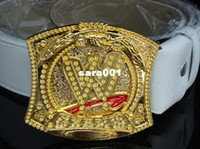 Wholesale USA Professional Wrestling Champ Belt cm cm Metal PU Leisure Personality The Middle W Is Rotatable