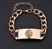 Charm Bracelets ancient jewellery - Drop shipping Metal bracelet lion charm bracelet restoring ancient ways fashion jewelry holiday bracelet cheap jewellery XR