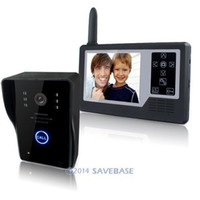 Wholesale New quot Screen G Wireless Video Door Phone Doorbell Intercom With IR Camera