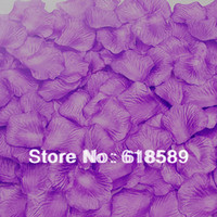 Wholesale Colors For Choosing Wedding Party Decoration Silk Flowers Bouquet Rose Flower Petals