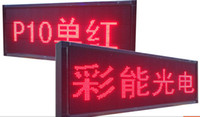 Wholesale hot sell semi outdoor led moving letter sign cm