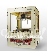 Wholesale FedEx DHL UPS HOT SALE Come3D D Printer Single extruder open source MakerBot Replicator kg ABS material