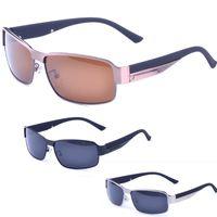 al por mayor gafas de sol polarizadas de alta gama-2017 Los nuevos hombres forman el verano polarizado de gama alta de las gafas de sol de conducción que se divierten los anteojos de sol frescos Shipping + box + cloth + YJ2042 calientes calientes