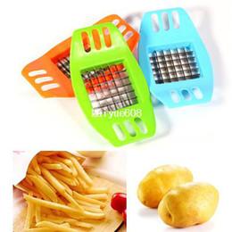 Wholesale Stainless Steel Vegetable Fry Potato Chip Cutter Slicer Chopper Chipper New