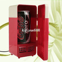 Wholesale New Comer Mini USB PC Refrigerator For Cans Cooler amp Laptop PC Computer