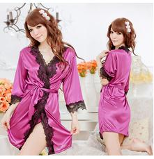 Wholesale pecs NEW Sexy baby doll lingerie sexy adult costumes lady night wear dress Lace edging sexy sleepwear with G string