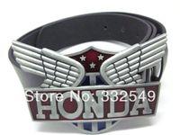 Wholesale THE motor engine wings shileld BELT BUCKLE with Free belt worldwide