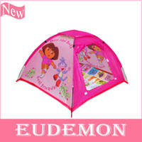 Tents Animes & Cartoons Polyester Free Shipping New Arrival Childern Pink Yurts In&Outdoor Pop Up House Kids Play Game Kids Tent Toy