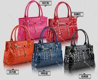 cheap branded bags - brand new women lady tote handbag designer lock shoulder bag colors fashion accessory cheap hot