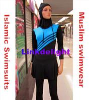 Wholesale Bathing Suit Muslim Swimwear abaya islamic swimwear women muslim swimsuit arabian beachwear