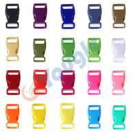 Wholesale 100 quot Side Release Contoured Curved Buckle for Bag DIY Webbing Straps Paracord Bracelet