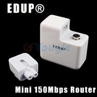 Wireless Soho QoS Free Shipping EDUP EP-2908 Mini Portable AP 11N 150Mbps Wireless WiFi Router Wireless Partner