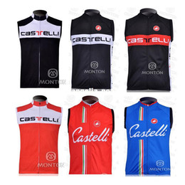 Wholesale Castelli Cycling sleeveless jersey jersey vest Mayo wicking breathable cycling clothing