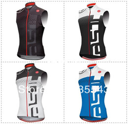 Wholesale Hot Supply Castelli sleeveless bike jersey cycling clothing vest Mayo wicking breathable colors