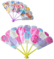 Wholesale Children Cartoon folding fan portable folding fan tourist novelty travel products