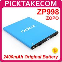 ZP998 Batería Original ZOPO 2400mAh para ZOPO ZP998 Octo Core Smart Phone - PickTake envío gratis