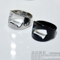 Wholesale 10 Brand New Stainless Steel Finger Ring Bottle Opener Bar Beer tool