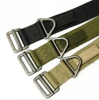 Wholesale BlackHawk Rescue Riggers Tactical Rappelling Downhill Canvas Military CQB Belt