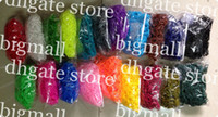 Wholesale bands mix pack Loom bands refill pack s clips DIY twist rubber band packs