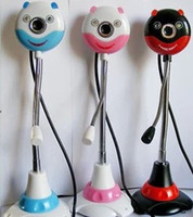 No Taping New Beets free shinppingBeets BC-1026 panda smile illuminated night vision camera -free drive wholesale computer accessories Microphone