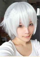 Wholesale Cosplay Wigs For Men Short Hair Manga And Anime Cartoons Style Colors C7