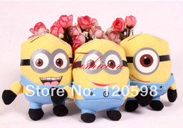 Wholesale Lovely cm Plush Despicable Me Minions Doll Toy Gift Craft Party Supply Party Plus Animals Supplies