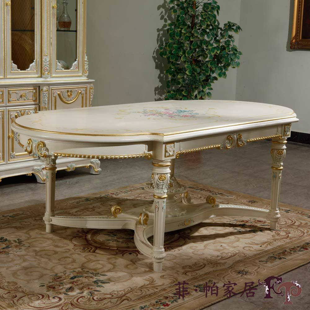 vente en gros mobilier europ en classique royal la main la royaut baroque sculpt table. Black Bedroom Furniture Sets. Home Design Ideas