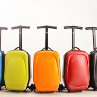 Wholesale Scooter Suitcase special Scooter package multi function travel box one way wheel scooter suitcase quot box air box kid luggages