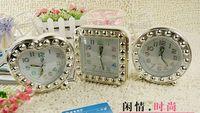 Wholesale Best price K1222 F27 kinds shape Creative fashion Quartz Alarm Clock Creative home gifts with retail box