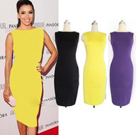 Wholesale Popular Dresses New Women Dress Fashion Slim Lapel Temperament Dress Style piece