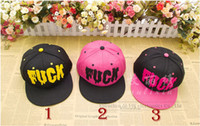 Ball Cap AS shown in pictures Woman Wholesale Fuck snapback Fuck Blood hat Baseball Caps HIp Hop Street sport Free Shipping AW013