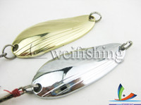 Wholesale multicolor Metal bait fishing lure spinner bait fresh water shallow water fishing tackle g cm