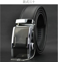 Wholesale 2013 world Classic fashion Design Men s Belt Automatic buckle leather belt men s leather strap explosion models PD2501