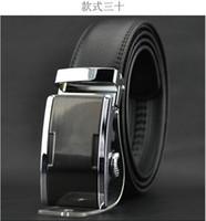 Wholesale 2013 world Classic fashion Design Men s Belt Automatic buckle leather belt men s leather strap explosion models PD2501