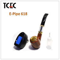 Single wooden color Metal High Quality Hammer E Pipe Best Price Vapor Pipes E Pipe 618 With E Pipe Drip Tips