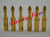 Adapter banana plug solder - 500pcs x PALIC Gold Plated Banana Plug Connector for Speaker Cable Solder