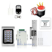 Wholesale Waterproof RFID Door Access Control Kit Strike Lock Door Sensor RFID Cards