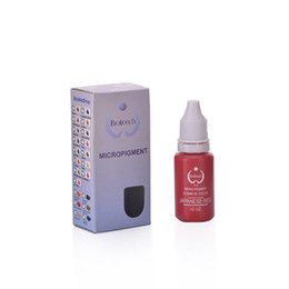 Wholesale 1pcs Original Biotouch Micropigment Japanese Red Permanent makeup Tattoo Micropigment Sexy Color