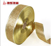 Wholesale Christmas decoration yards quot mm a variety of colors Christmas Ribbon Holiday decorations