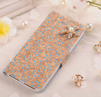 Pentaphylla Flip Cover diamond leather Cover case with stand...