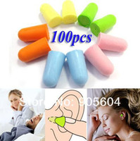 Wholesale Cheapest Foam Ear Plug Keeper Soft Protector Sleeping Noise Reducer Pairs