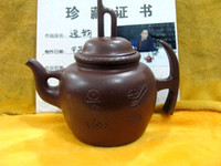 Violet arenaceous  teapots - Unusual World Brand China Yixing teapot Hanmeilin madeDelicate manual teapot